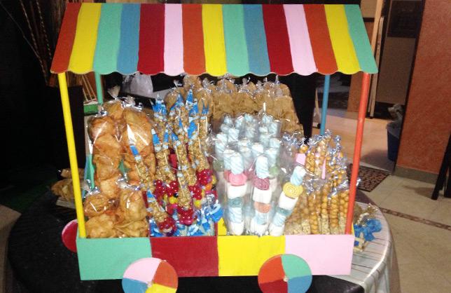 Mesa de postres for Mesas dulces para eventos